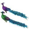 Northlight Seasonal Regal Peacock Glittered Bird Clip-On Christmas Ornament