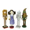 Northlight Seasonal 4 Piece Decorative Wizard of Oz Wooden Christmas Nutcrackersn Set