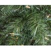 Northlight Seasonal 9' Green Woodland Alpine Artificial Christmas Tree 550 Clear Lights with Stand