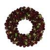 "Northlight Seasonal 12"" Pine Cone Artificial Christmas Wreath"