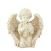 Northlight Seasonal Heavenly Gardens Kneeling Cherub Angel with Dove Outdoor Patio Garden Statue