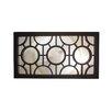 Northlight Seasonal Geometrical Circles Decorative Rectangular Wall Mirror