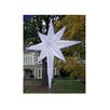 Northlight Seasonal LED Lighted Moravian Star Commercial Christmas Tree Topper Decoration