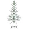 Northlight Seasonal 9' Green Cascade Artificial Christmas Tree with 500 Green Lights with Stand