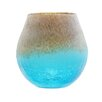 Northlight Seasonal Frosted Hand Blown Glass Vase