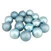 Northlight Seasonal Magenta Shatterproof Christmas Ball Ornaments (Set of 16)
