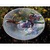 Dragonfly and Flower Spring Garden Birdbath - Northlight Bird Baths