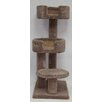 """Beatrise Pet Products 48"""" Kitty Cuddle Tower Cat Tree"""