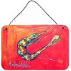 Caroline's Treasures Shrimp Seafood Three by Martin Welch Painting Print Plaque