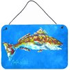 Caroline's Treasures Fish Seafood Two by Martin Welch Painting Print Plaque
