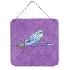 Caroline's Treasures Dragonfly by Sylvia Corban Painting Print Plaque