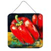 Caroline's Treasures Vegetables Bell Pepper Two Bells by Martin Welch Painting Print Plaque