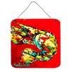 Caroline's Treasures Crawfish Told You So Aluminum Hanging Painting Print Plaque