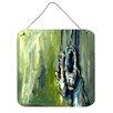 Caroline's Treasures Ballet Topal Green Aluminum Hanging Painting Print Plaque