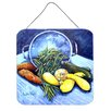 Caroline's Treasures Vegetables Veg For All by Martin Welch Painting Print Plaque