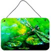 Caroline's Treasures Dragonfly Summer Flies by Martin Welch Painting Print Plaque