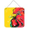 Caroline's Treasures Bird Rooster Big Head by Martin Welch Painting Print Plaque