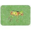 Caroline's Treasures Grasshopper on Avacado Kitchen/Bath Mat