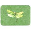Caroline's Treasures Dragonfly on Avacado Kitchen/Bath Mat