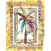 Caroline's Treasures Palm Tree 2-Sided Garden Flag