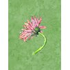 Caroline's Treasures Gerber Daisy Pink 2-Sided Garden Flag