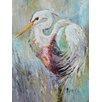 Caroline's Treasures White Egret 2-Sided Garden Flag