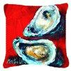 Caroline's Treasures Open Up Oyster Indoor/Outdoor Throw Pillow