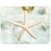 Caroline's Treasures Starfish Glass Cutting Board