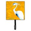Caroline's Treasures Blue Heron Col Mustard Wall Hook