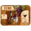 Caroline's Treasures Vino Wine Glass Cutting Board
