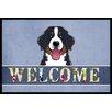 Caroline's Treasures Bernese Mountain Dog Welcome Mat