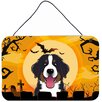 Caroline's Treasures Halloween Bernese Mountain Dog by Denny Knight Graphic Art Plaque