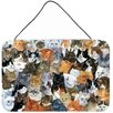 Caroline's Treasures Cats Galore by Daphne Baxter Graphic Art Plaque