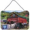 Caroline's Treasures The Quilt Barn by Tom Wood Painting Print Plaque