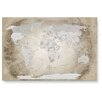LanaKK Wandbild Worldmap, Fotodruck