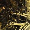LanaKK 5-tlg. Leinwandbild-Set Jungle Graph, Grafikdruck