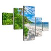 LanaKK Holiday Desire Sunglow 5 Piece Photographic Print on Canvas Set