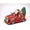 Cosmos Gifts Santa Delivery Car (Set of 5)