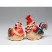 Cosmos Gifts Chicken Salt and Pepper Set