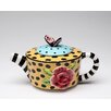 Cosmos Gifts Lady Lux 0.38-qt. Teapot