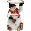 "Cosmos Gifts Snowman 18"" Fig with Plate"