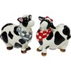 Cosmos Gifts Cow Salt and Pepper Set