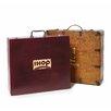 Pro-Towels Wood Suitcase Box