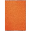 Rugnur Bella Maxy Home Single Solid Orange Shag Area Rug