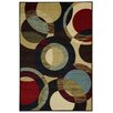 Rugnur Hammam Maxy Home Contemporary Circles Area Rug