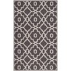 Darby Home Co Four Seasons Dark Gray/Ivory Area Rug