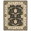 Darby Home Co Kewanee Hand-Woven Black Area Rug