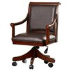 Darby Home Co Shiloh Leather Arm Chair