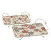 Darby Home Co 2 Piece Tray Set