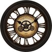 "Darby Home Co Oversized 24"" Gear Works Wall Clock"